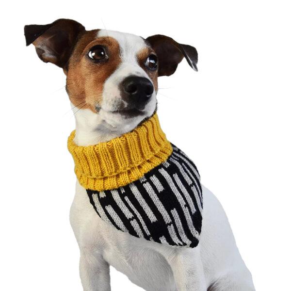 Hello Pets halsvarmer - Gul